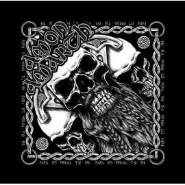 Bandana AMON AMARTH - Bearded Skull