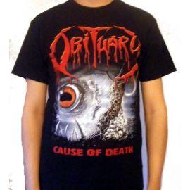 Tricou OBITUARY - Cause of Death