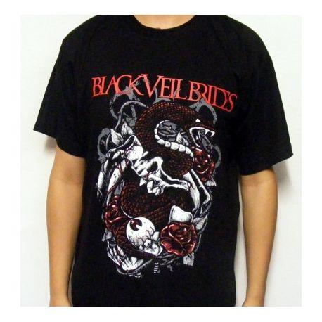 Tricou BLACK VEIL BRIDES - Logo rosu