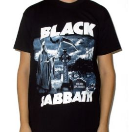 Tricou BLACK SABBATH - Meet The Reaper