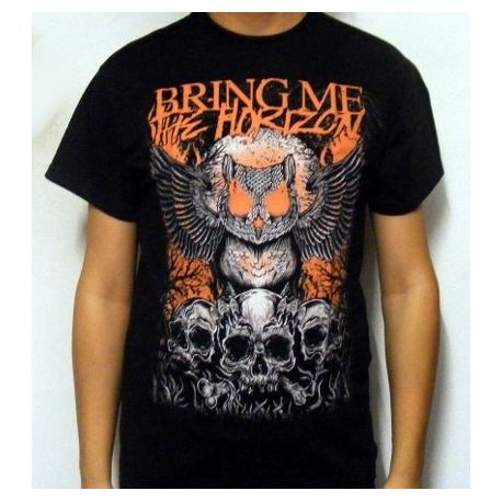 Tricou BRING ME THE HORIZON - Owl And Skulls