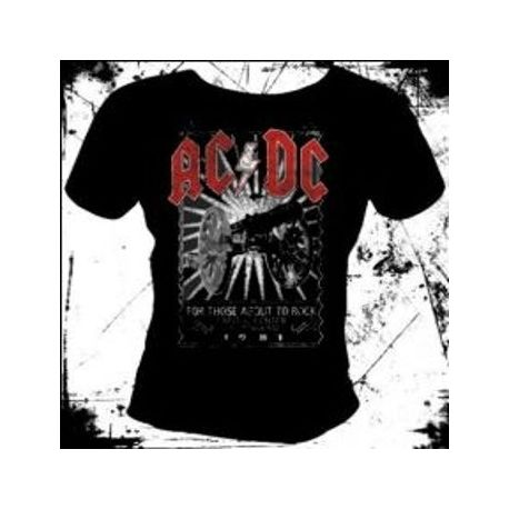 Tricou girlie AC/DC - For Those About To Rock