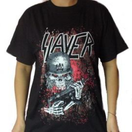 Tricou SLAYER - Red Eyes Soldier