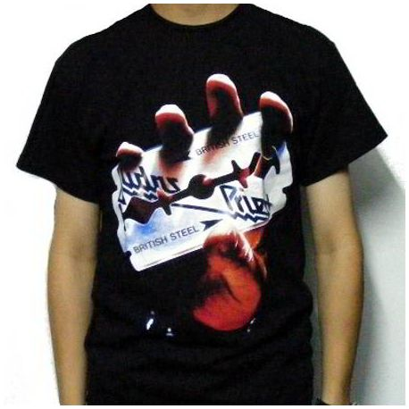 Tricou JUDAS PRIEST - British Steel - Model 2