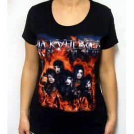 Tricou girlie BLACK VEIL BRIDES - The World On Fire
