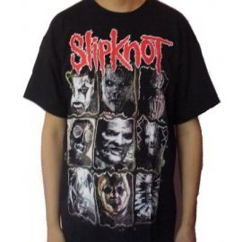 Tricou SLIPKNOT - The New Masks