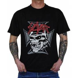 Tricou SLAYER - Skull & Iron Cross