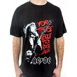 Tricou AC/DC - For Those About To Rock, We Salute You