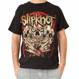 Tricou SLIPKNOT - Skulls and Hands