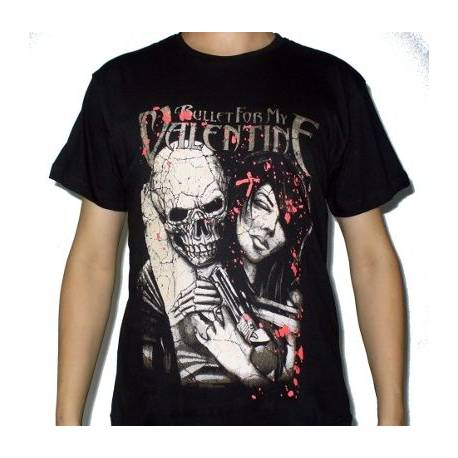 Tricou BULLET FOR MY VALENTINE - The Lady Assassin