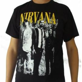 Tricou NIRVANA - Band