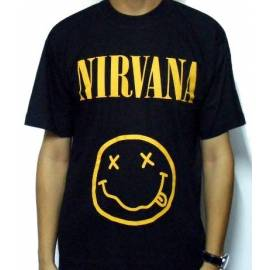 Tricou NIRVANA - Smiling Face