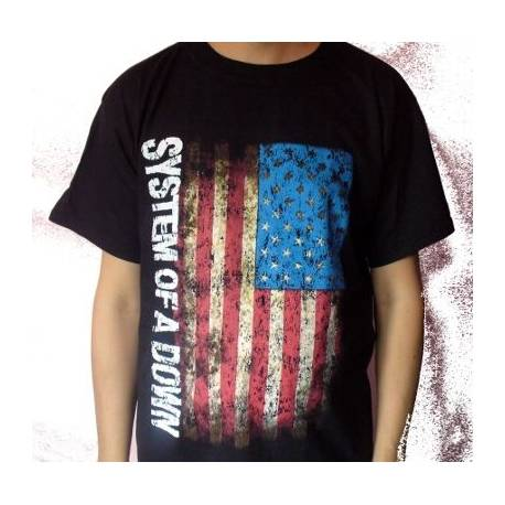 Tricou SYSTEM OF A DOWN - U.S.A. Flag