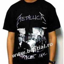 Tricou METALLICA - Garage Inc.