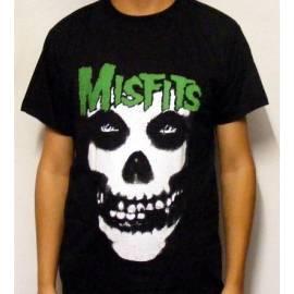 Tricou MISFITS - Logo verde