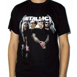 Tricou METALLICA - Band - Model 2