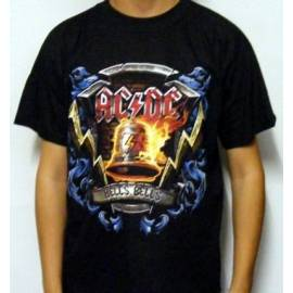 Tricou AC/DC - Hells Bells In Flames