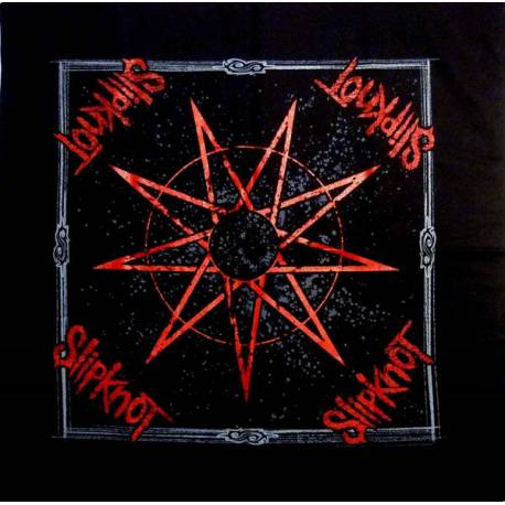 Bandana SLIPKNOT - Nine Pointed Star