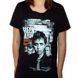 Tricou Girlie GREEN DAY - American Idiot/Band