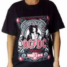 Tricou AC/DC - Public Enemy No. 1