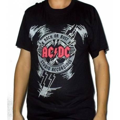 Tricou AC/DC - Rock or Bust - Studio Recordings