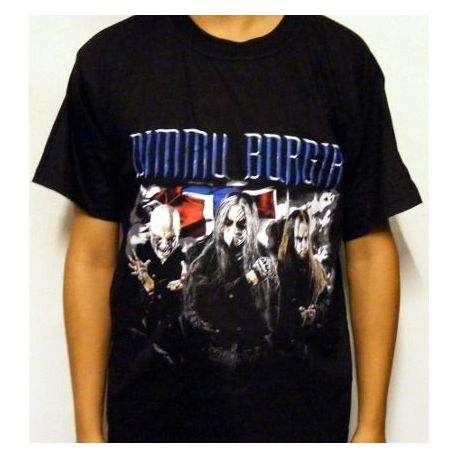 Tricou DIMMU BORGIR - Band Flag