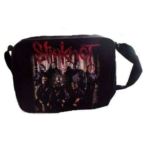 Geanta rock SLIPKNOT - Band Logo rosu