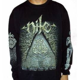 Tricou Long sleeve NILE - What Should Not Be Unearthed