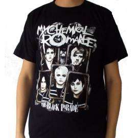 Tricou MY CHEMICAL ROMANCE - The Black Parade - Model 2