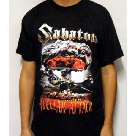 Tricou SABATON - Nuclear Attack