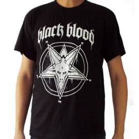 Tricou BLACK BLOOD - Pentagrama
