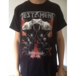 Tricou TESTAMENT - Brotherhood of the Snake