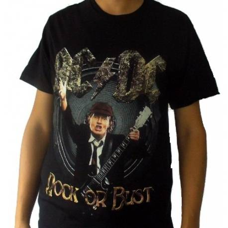 Tricou AC/DC - Rock or Bust - Angus