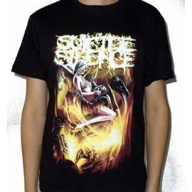 Tricou SUICIDE SILENCE - Fire
