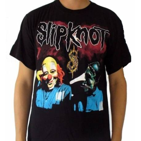 Tricou SLIPKNOT - Two Masks