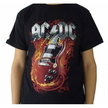 Tricou AC/DC - Devil Guitar