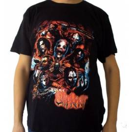 Tricou rock SLIPKNOT - Fire