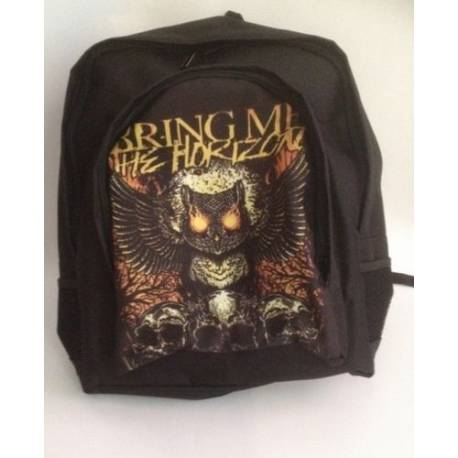 Rucsac BRING ME THE HORIZON - Owl and Skulls