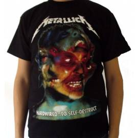 Tricou METALLICA - Hardwired ... to Self-Destruct