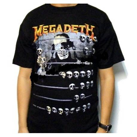 Tricou rock MEGADETH - Countdown to Extinction
