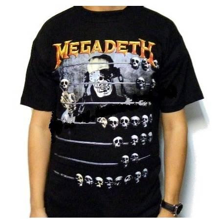 Tricou rock MEGADETH - Countdown to Extinction