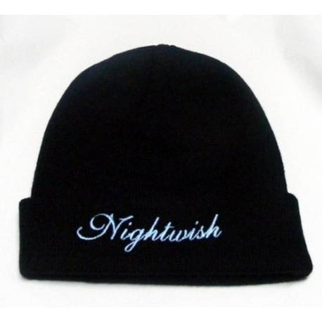 Caciula NIGHTWISH - Logo alb