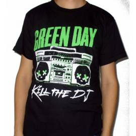 Tricou rock GREEN DAY - Kill the DJ