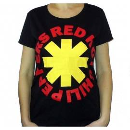 Tricou Girlie Red Hot Chili Peppers - Logo