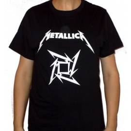 Tricou METALLICA - Star - New Logo