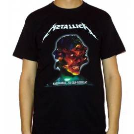 Tricou METALLICA - Hardwired ... to Self-Destruct - Model 3