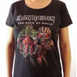 Tricou Girlie IRON MAIDEN - The Book of Souls - World Tour 2016