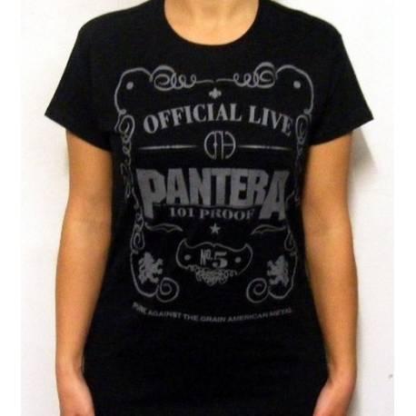 Tricou Girlie PANTERA - Official Live