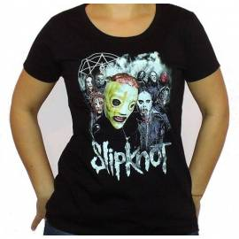 Tricou girlie SLIPKNOT - Big Mask