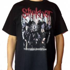 Tricou SLIPKNOT - Band logo rosu